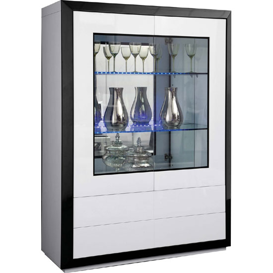 Mira Display Cabinet 1MB - Stylish Apartment Furniture For Different Rooms