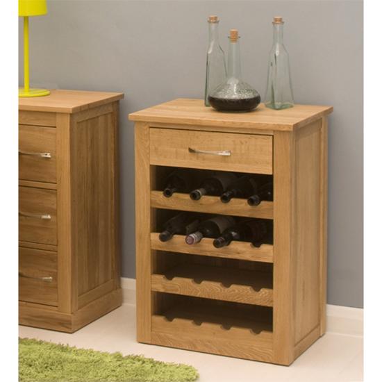 Wine Rack Furniture ~ Artisan wooden wine rack lamp table in oak furniture