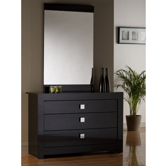 Modena 3 Drawer Wide Chest