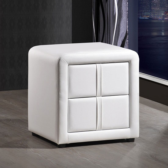 Abbey Coffee Table High Gloss White With 2 Pull Out Drawers: Sydney Rotating Office Desk In High Gloss White 19699 Furnit