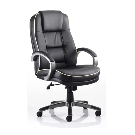 Monterey Leather Office Chair