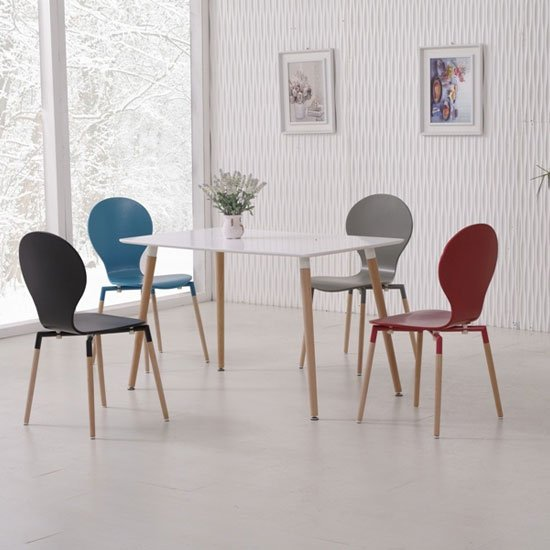 NAPLES120WHITE ASSORTEDCHAI - 6 Common Types Of Kitchen Tables And Chairs