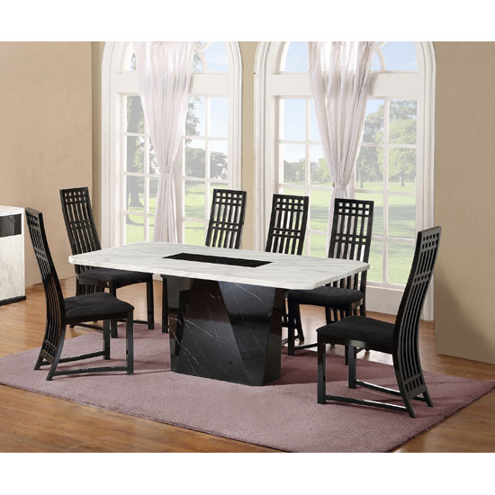 NOIRDset 6 chair - 5 Essential Features Of Dining Tables For Commercial Use