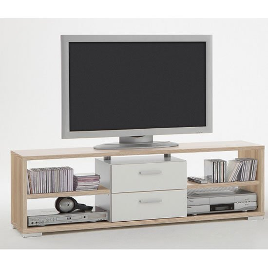 Wooden tv stands modern corner chunky units for White plasma tv stands