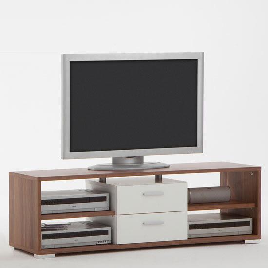 Nemo Plumtree/White Plasma TV Stand