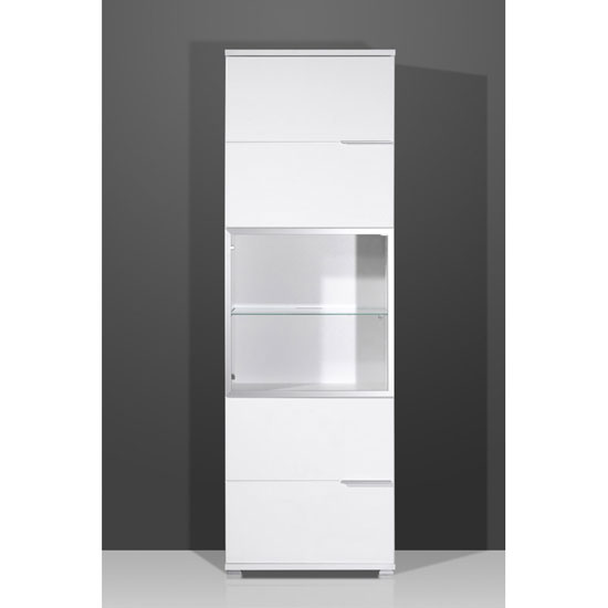 cabinets nevada 2 door tall entertainment cabinet in gloss white