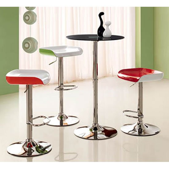 Nuvo bar table blk - Choosing The Right Bar Stools: 3 Things To Focus On