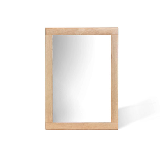 Pacific Wall Mirror In Solid Oak Frame_2