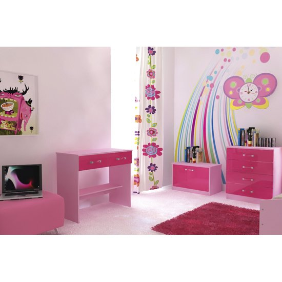 Read more about Ottawa 2 tones 4 drawer chest in pink