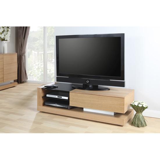 Oak TV Stand JF613TV - Oak Furniture - Symbolising Strength and Durability