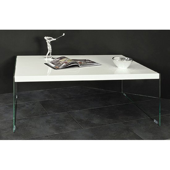 Glass Coffee Table With White Legs 11