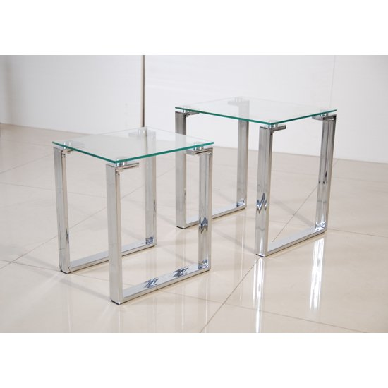 Glass Nest Of Tables Furniture in Fashion : OmegaNestofTablesC03 from www.furnitureinfashion.net size 550 x 550 jpeg 123kB