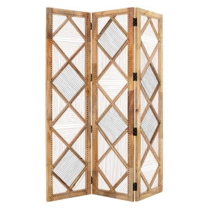 Room dividers, screens & partitions in wooden, metal & wicker, white & bamboo.