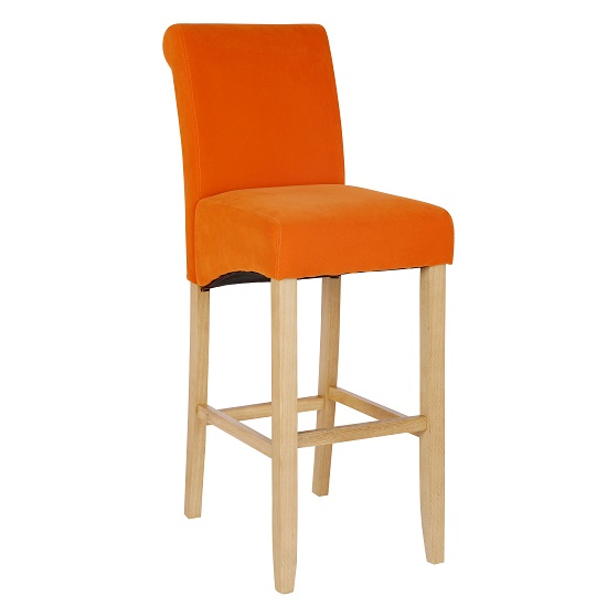 Orange Bar Chair1 - Choosing The Right Bar Stools: 3 Things To Focus On