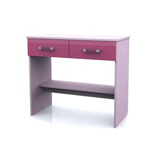 Ottawa 2 Tones Study Desk with 2 Drawers