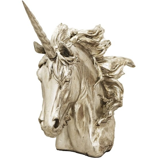 Unicorn Head Sculpture