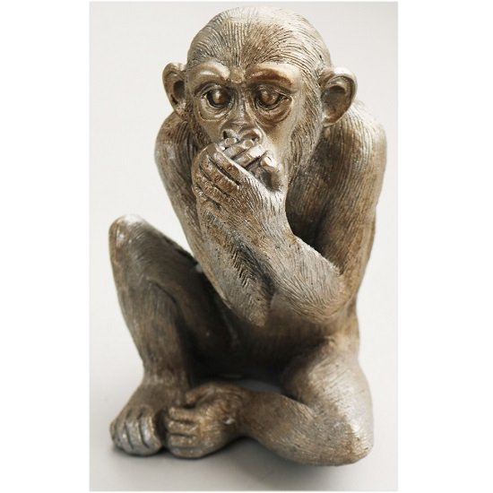 Wise Monkey - Speak No Evil Sculpture