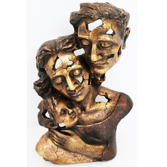 Family Bust Sculpture