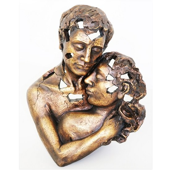 Couple Embrace Sculpture