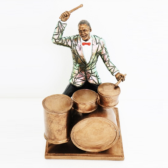 Drummer Sculpture