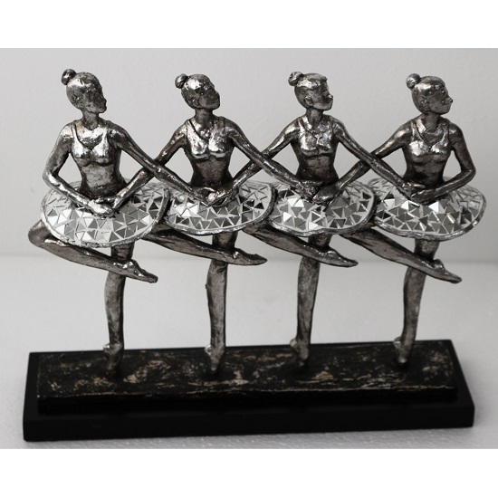 Four Ballerinas Sculpture