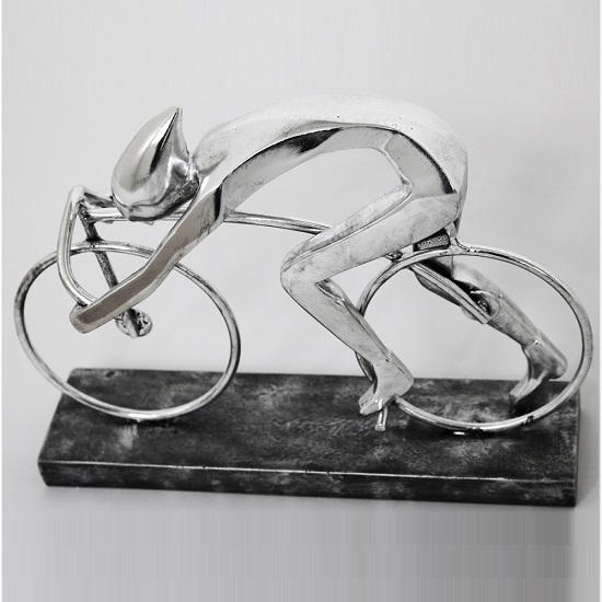 Speed Cyclist Sculpture