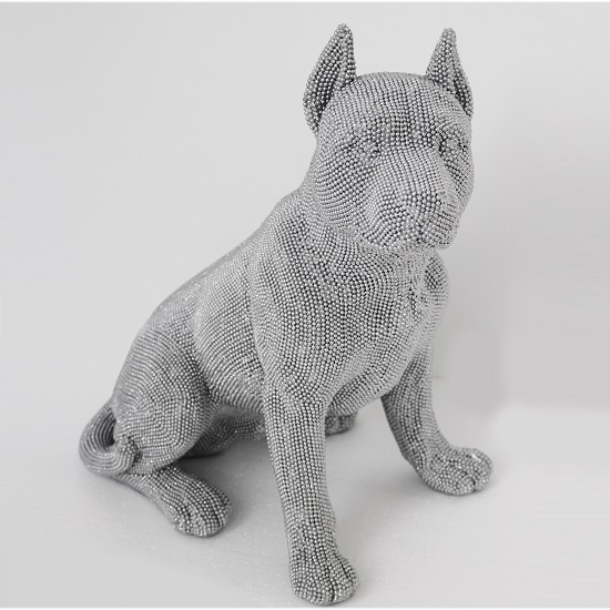 Sitting Dog Sculpture