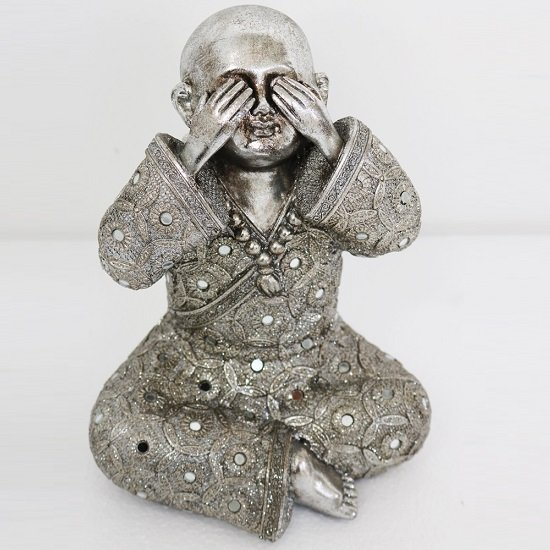 See No Evil - Monk Big Size Sculpture