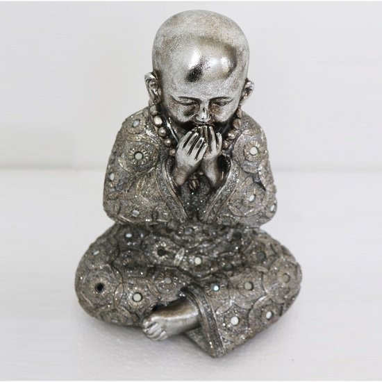 Speak No Evil - Monk Big Size Sculpture