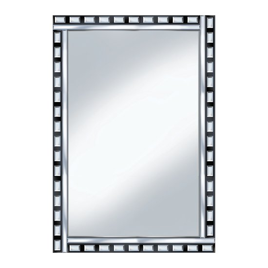 black silver design 120x80 large mirror po939 20818. Black Bedroom Furniture Sets. Home Design Ideas