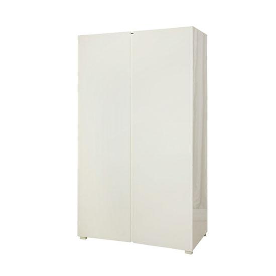 Read more about Curio cream high gloss finish 2 door wardrobe