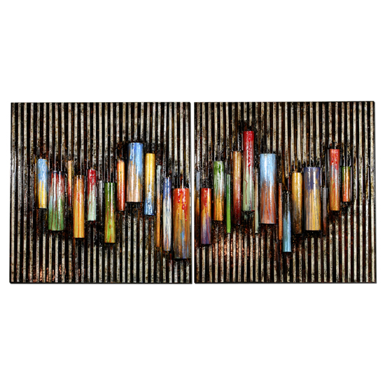 Paint Pot Pipes Wall Art
