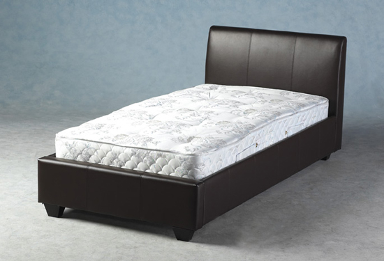 Palermo Modern 3ft Expresso Brown Bed