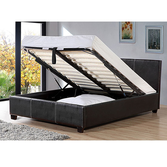 Pavia PU Storage Bed