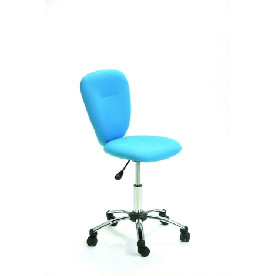 Pezzi Office Children's Swivel Chair in Blue