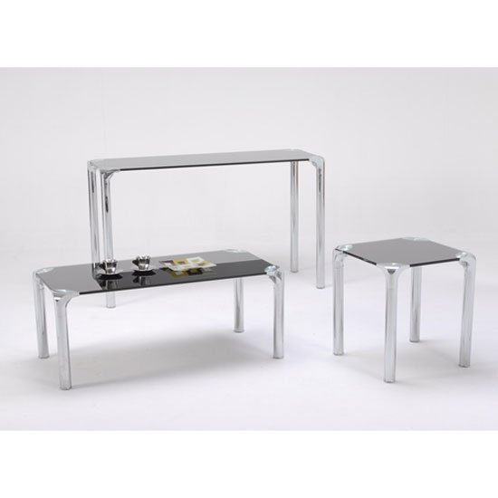 Polar Range - Types Of Console Tables With Stools Underneath For 5 Different Interiors