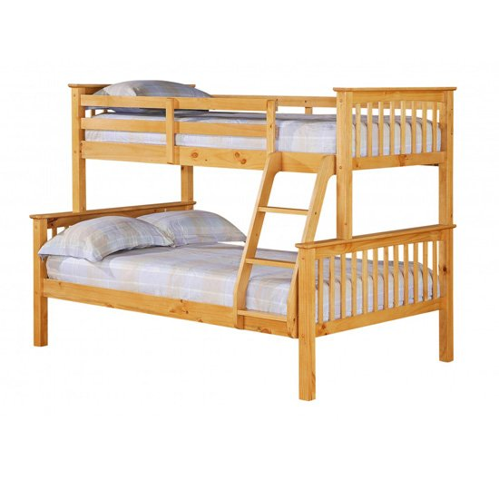 Porto triple sleeper bunk bed 15060 furniture in fashion for Furniture in fashion