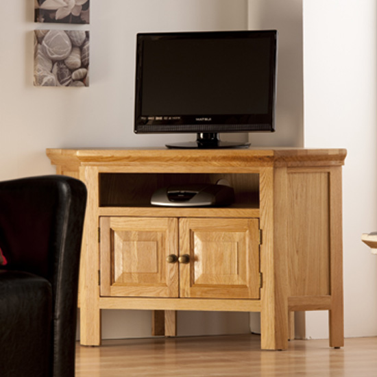 Provence Corner TV Unit PR05 - How To Quickly Choose Small Oak Corner TV Unit Of The Highest Quality