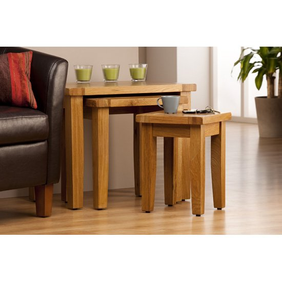 Provence Wooden Nest of Tables
