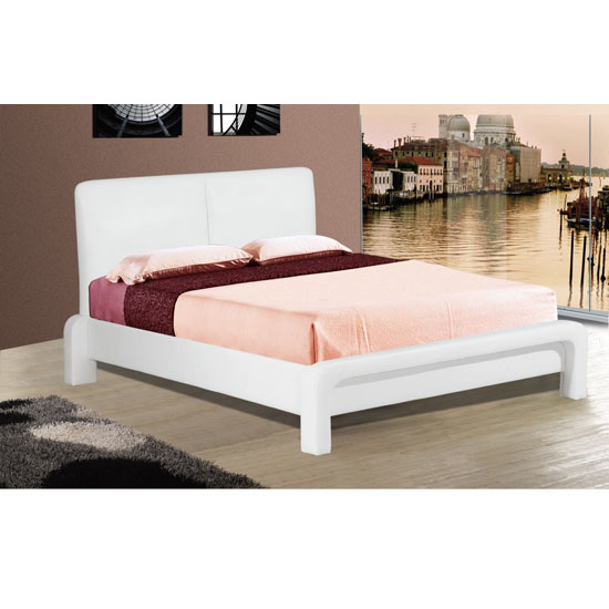 Punto PU Faux Leather Bed