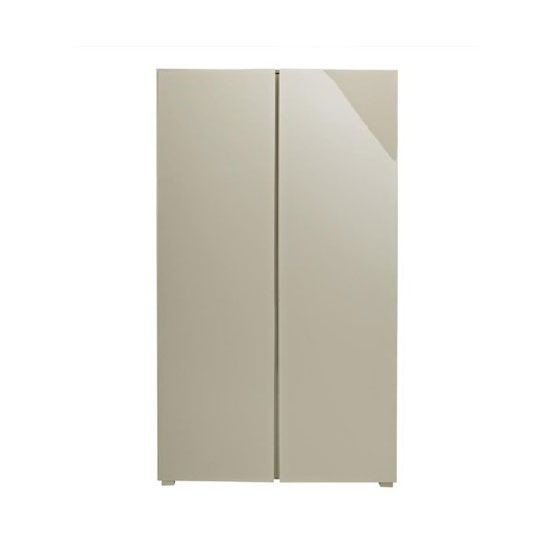Curio Stone High Gloss Finish 2 Door Wardrobe