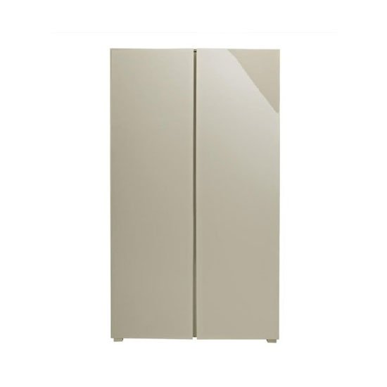 Read more about Curio stone high gloss finish 2 door wardrobe
