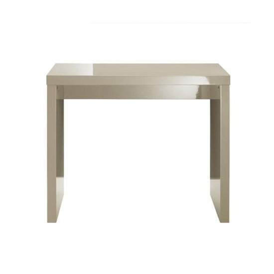 Curio Stone High Gloss Finish Console Table