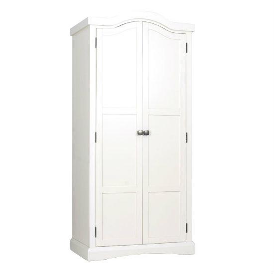 Quebec 2 Door Wardrobe In Cream