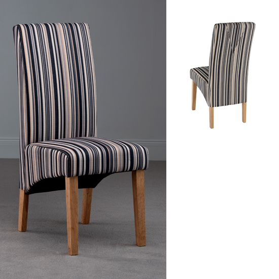 Striped Dining Room Chairs