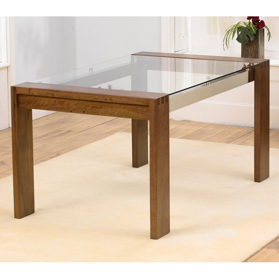 Solid wood dining room table shop for cheap furniture for Only dining table online