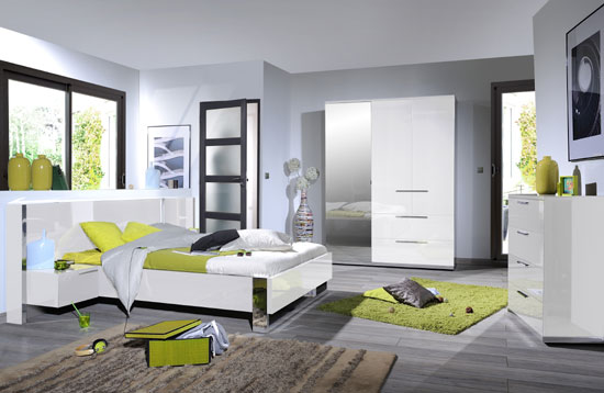 Ensemble chambre coucher pas cher wichweight chambre for Chambre adulte italienne