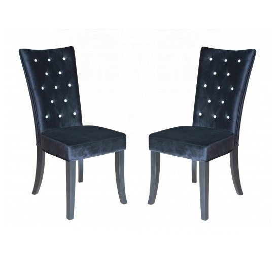 Radiance Black Chair LPD - 10 Of The Best Upholstered Dining Chairs For A Sleek Dining Room