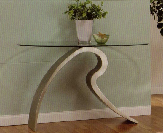 Signature Glass Console Table