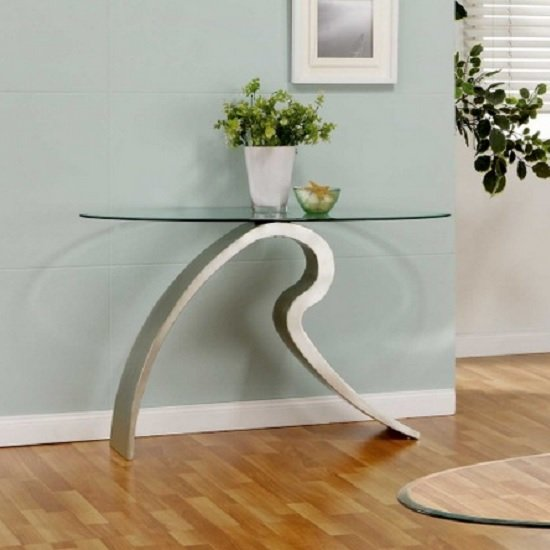 Signature Glass Console Table 9315 Furniture In Fashion